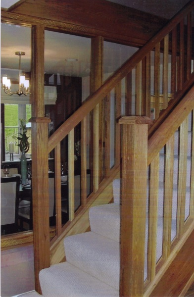 Staircase at Kingsley