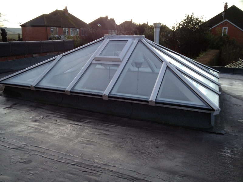 Our bespoke roof-light lets in natural light